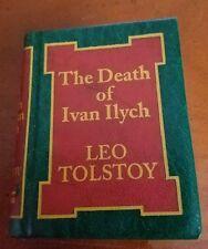 The Death of Ivan Ilych Del Prado Miniature Classic Library Leo Tolstoy