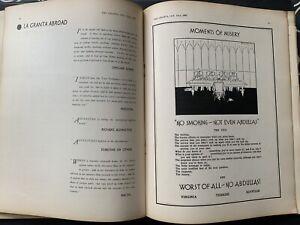 Cambridge University GRANTA 1937 FOUGASSE Magazine ADVERTS Freddy Fresher MAP