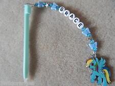 PERSONALIZZATA DSI DS LITE STILO / Penna con amuleto My Little Pony Rainbow Dash