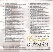 rare POP Rock BALADA CD slip ENRIQUE GUZMAN gotas de lluvia HARLEM ESPAÑOL tuvoz