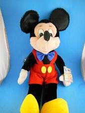 "Vintage Korea Mickey Mouse Doll Disney Applause 17"" inc ears Velvetty fabric MWT"