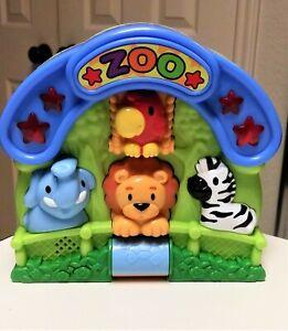 Hap-P-Kid Zoo Musical Toddler Toy