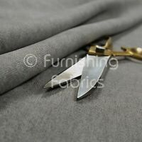Quality Highland Soft Wool Effect New Chenille Curtain Upholstery Grey Fabric