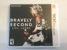 Replacement Case (NO GAME) Bravely Second: End Layer  - Nintendo 3DS