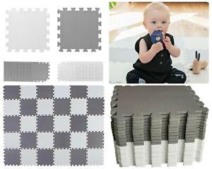 50pcs Thick EVA Soft Foam Mat Gym Flooring Interlocking Yoga Tiles Kids Play New