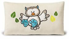 Nici Forest Friends Eule Kissen 43x25cm Plüsch Kuschelkissen Owl Geschenk 39627