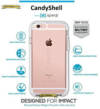 Speck CandyShell Case Cover For Apple iPhone 6 Plus & 6s Plus Clear 73685-5085