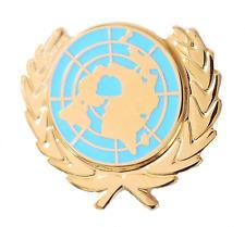 United Nations UN Flag Emblem Pin Badge