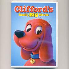 Clifford's Really Big Movie 2004 G kids' adventure, new DVD children PBS Ritter