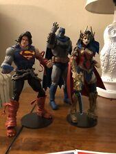 Mcfarlane DC Multiverse Death Metal Darkfather Superman Wonder Woman Loose Mint