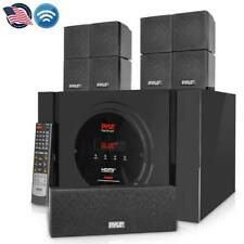 Bluetooth 5.1 Channel Home Theater System - Surround Sound Speakers & A/V Amp