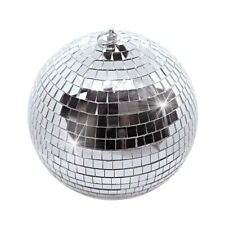 """Large 10"""" Mirror Glass Disco Ball Dj Dance Home Party Bands Club Stage Lighting"""