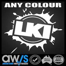 Loosekid Industries SPLAT Sticker Decal  LKI For Motocross Car SURF MOT