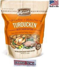 Natural Healthy Merrick Dog Biscuits Grain Free TURDUCKEN USA Made Treats Turkey