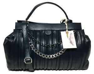NWT Jessica Simpson Woman's Satchel, Navy Blue MSRP: $118.00 Adjustable Strap