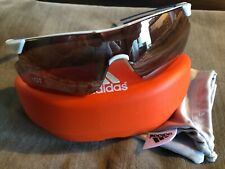 Adidas Sunglasses Brand New with Case White/Blue Frame