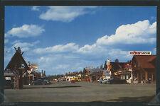 MT West Yellowstone CHROME 50's STREET SCENE Texaco CHEVRON Gas by Mike Roberts
