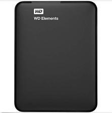 WD - Elements 2TB External USB 3.0 Portable Hard Drive - Black