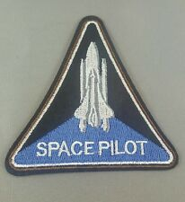 Space pilot  emroidered  iron on /sew on badge
