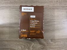 FOUR RXBAR Chocolate Peanut Butter 4/20