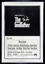 THE GODFATHER ✯ CineMasterpieces ORIGINAL VINTAGE MOVIE POSTER 1972 GANGSTER