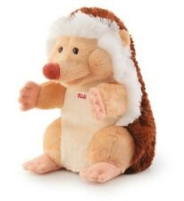 New Trudi Plush Hand Puppet with Tags - HedgeHog Plushie Toy Approx 25cms 30cms