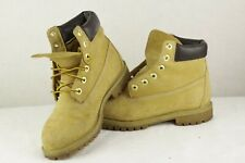 Womens TIMBERLAND Boots WEATHER GEAR Lace Ups WATER PROOF 4UK P78