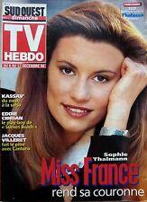 Mag rare 1998: MISS FRANCE SOPHIE THALMANN_KASSAV'_EDDIE CIBRIAN