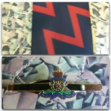 Royal Artillery ZigZag Tie & Tie Bar Set RA