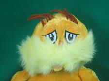 BIG YELLOW LORAX THE MOVIE DR. SEUSS DEFENDER OF THE FOREST PLUSH STUFFED ANIMAL