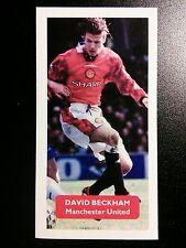 MANCHESTER UNITED - DAVID BECKHAM - Score UK football trade card
