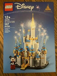 LEGO Mini Disney Castle 40478 – Walt Disney World 50th Anniversary NEW! SOLD OUT