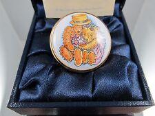 Crummles Together Bears Enamel Box Mib Gift Box Ex Condition