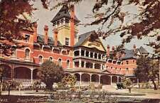 Paso Robles California Hotel Hot Springs Exterior Antique Postcard K13805