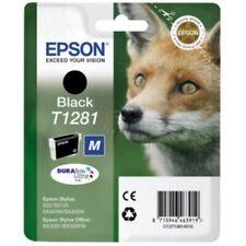 Original Epson T1281 schwarz Fuchs Stylus S22 SX125 SX130 SX230 SX235 o.V.
