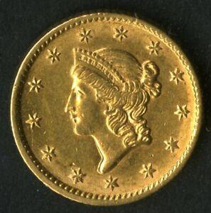 US Coin 1853 $1 Liberty Head Gold NO RESERVE!