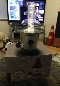 MODEL BECF40 BELLINI CHOCOLATE FOUNTAIN - GOOD WORKING ORDER