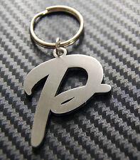 P Letter Alphabet Name Keyring Keychain Key Fob Bespoke Stainless Steel Gift