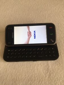 Nokia N97 mini- Black - Unlocked CellPhone *VINTAGE* *COLLECTIBLE* *RARE*