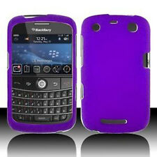 Rubber Dark Purple Rubberized HARD Case Cover BlackBerry Curve 9350 9360 9370