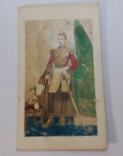 Noble Guard of the Vatican Hand Colored Photo CDV