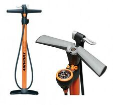 SKS AIRWORX 10.0 Orange Standpumpe, Manometer, alle Ventile AV SV DV, bis 10 bar