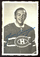 1970 71  OPC O PEE CHEE #23 Yvon Cournoyer DECKLE EDGE VG MONTREAL canadiens