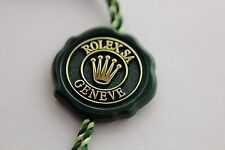 ROLEX genuine label Swiss chronometer certified 5 crowns hologram green hang tag
