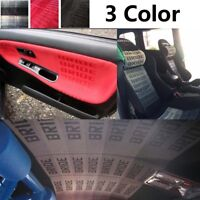 JDM Bride Fabric Cloth For Car Seat Cover Door Panel Headliner Armrest Decor DIY