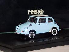 SUBARU 360  LIGHT BLUE 1963 EBBRO 43076 1:43