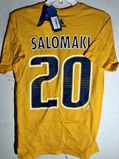 adidas  NHL T-Shirt Nashville Predators Miikka Salomaki Gold sz M