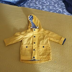 Next Yellow Raincoat 9-12m