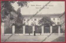 VARESE GORLA MINORE 07 COLLEGIO ROTONDI - LICEO - SCUOLA Cartolina viagg. 1908