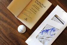 golf glove and book Tom Occonnor/Russ Abbott